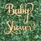 Baby Shower Wall Hanging Event Sign