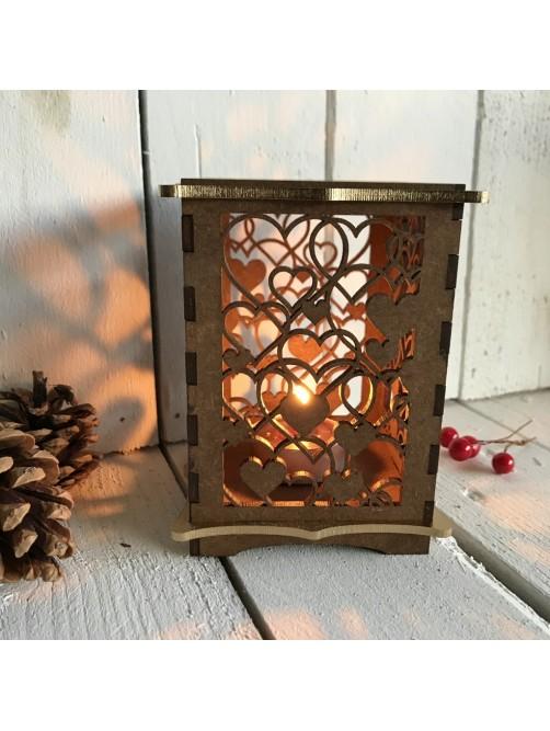Love Heart Tealight Candle Holder