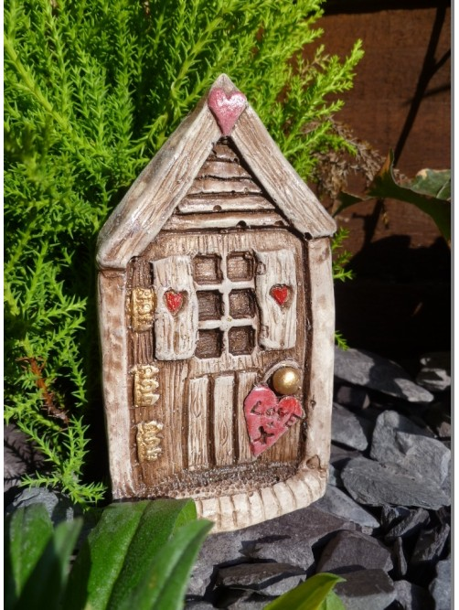 Rustic Love Fairy Door