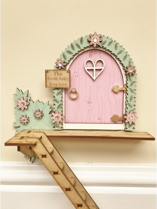 Pink The Tooth Fairy Lives Here With Ladder