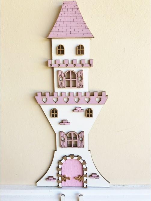 Pink Fairy Princess Castle Door