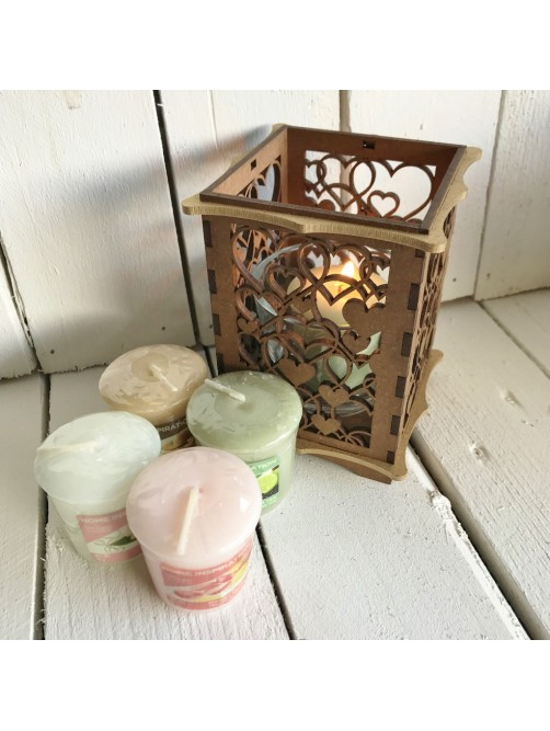 Yankee Candle Gift Set With Love Heart Holder
