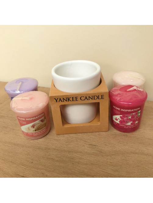 Yankee Candle Terracotta Votive Holder Gift Set