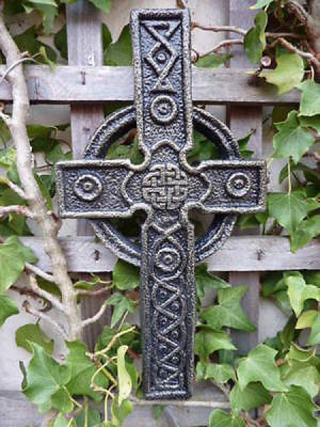 Celtic Design Wall Hanging Cross