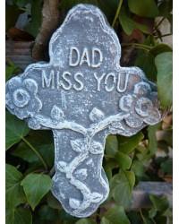 Dear Dad Miss You Memorial Plaque