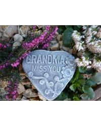 Grandma Miss You Memorial Plaque