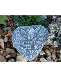 Sleep Safe, Angels Are Watching Memorial Plaque