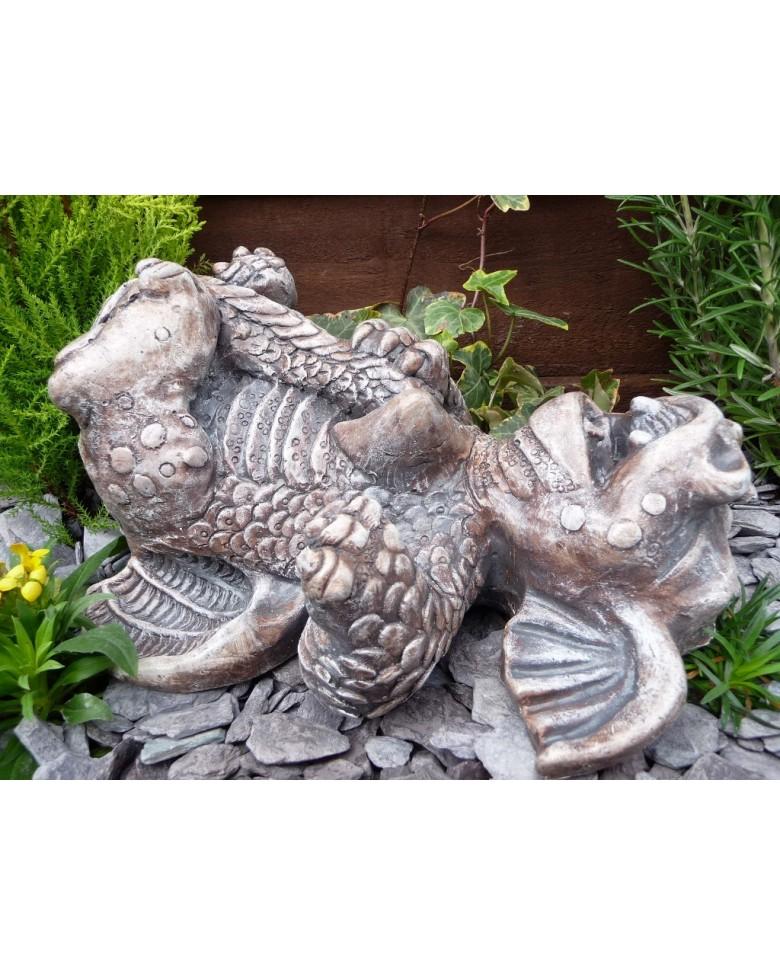 Cute Tipsy Dragon Garden Ornament