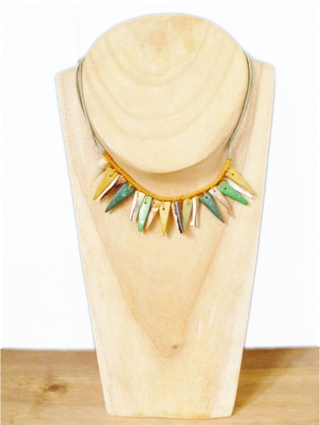 Cord & Shell Necklace