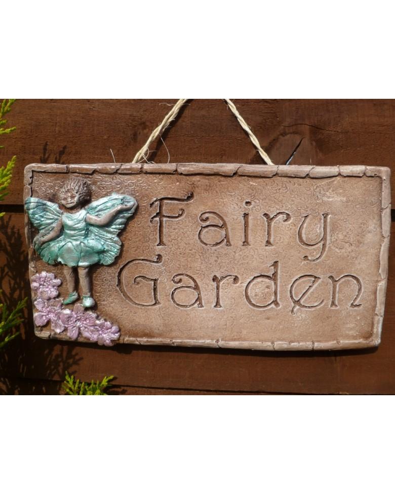 Fairy Land Pastel Fairy Garden Wall Plaque